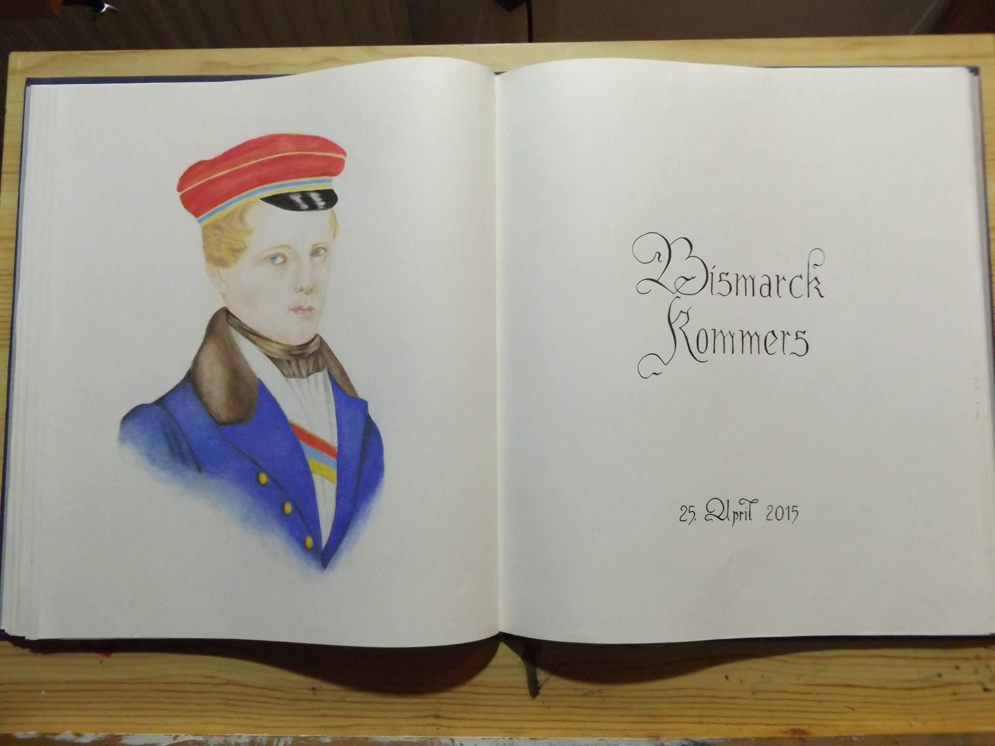 "Buchillustration ""Bismarck-Kommers"""