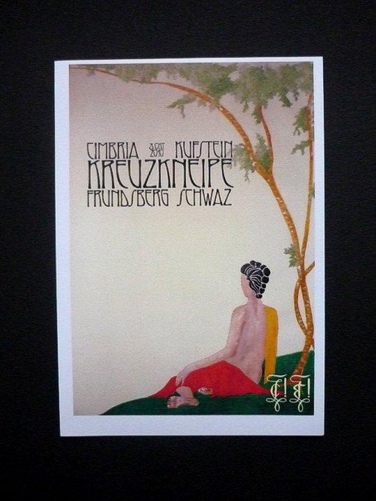 """Postkarte """"Cimbria-Frundsberg"""""""