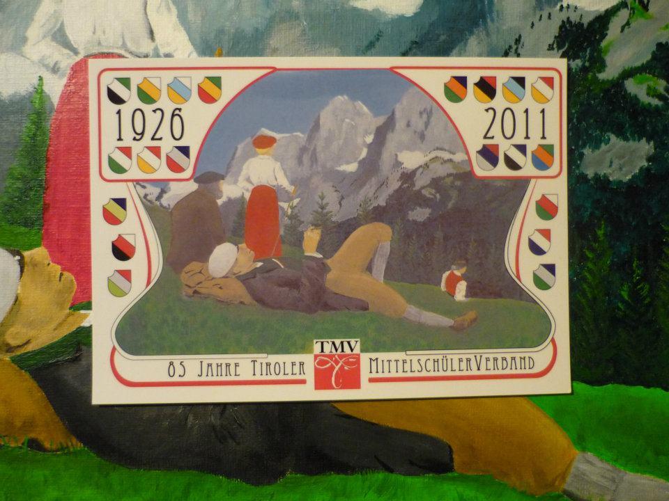 """Postkarte """"85 Jahre TMV"""""""