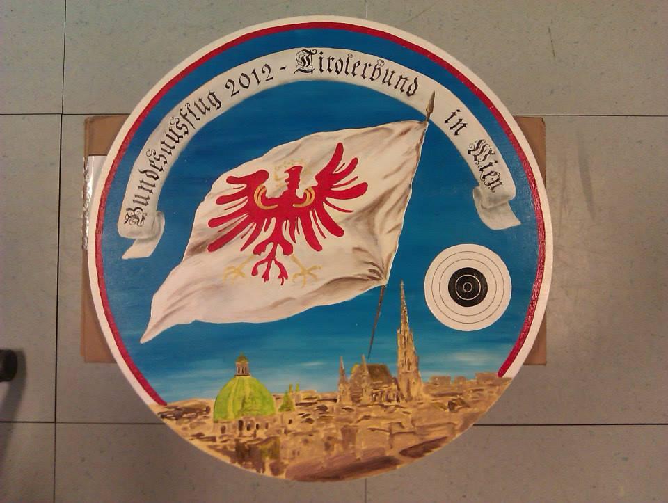 Schießscheibe Tiroler Bund